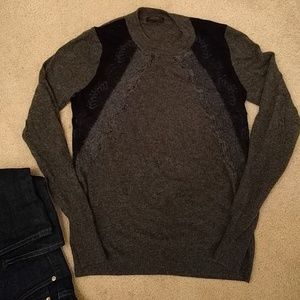 J crew sweater with lace detail EUC